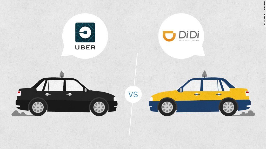 Uber runs out of petrol: ask for a truce with China Didi