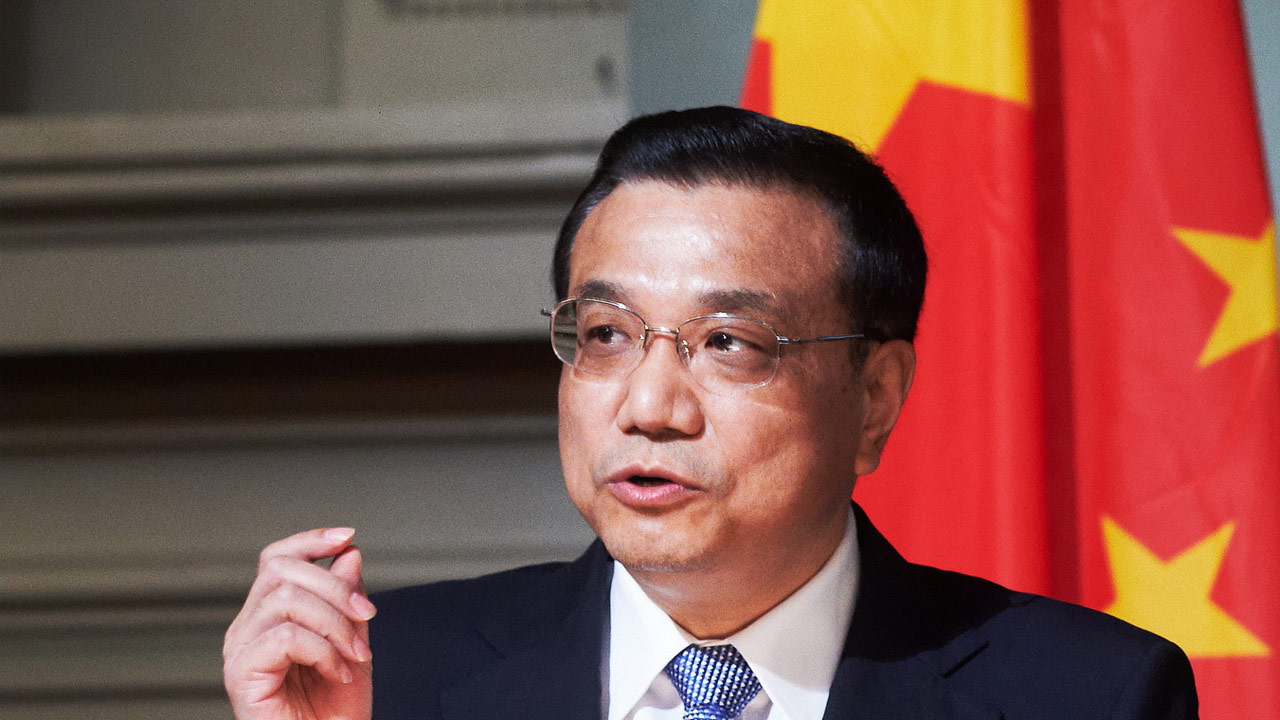 Li calls for support for EU Merkel give China market economy status
