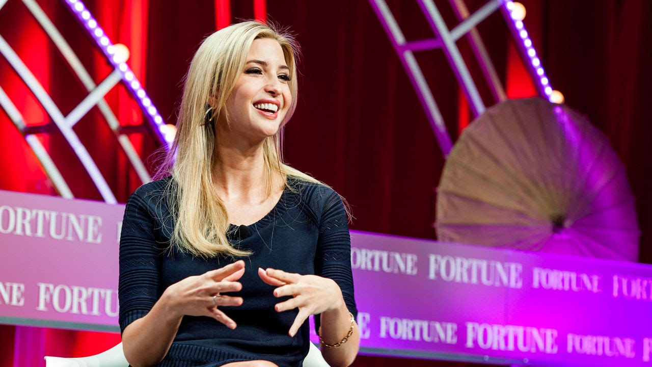 Ivanka Trump on female empowerment and about her company