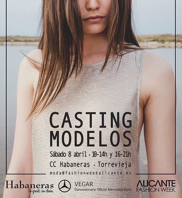 CASTING DE MODELOS ALICANTE FASHION WEEK