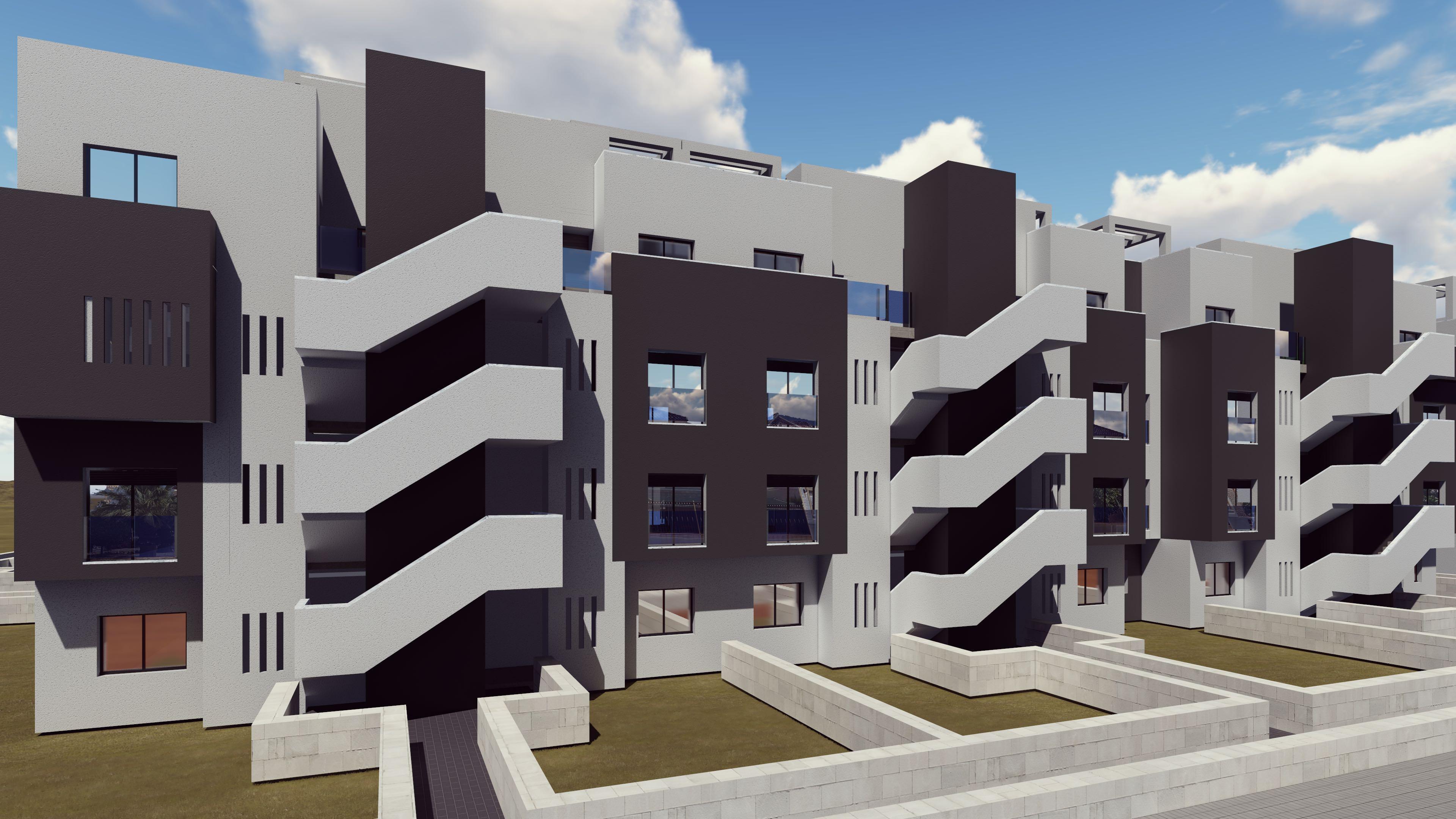 Complejo residencial privado en Guardamar