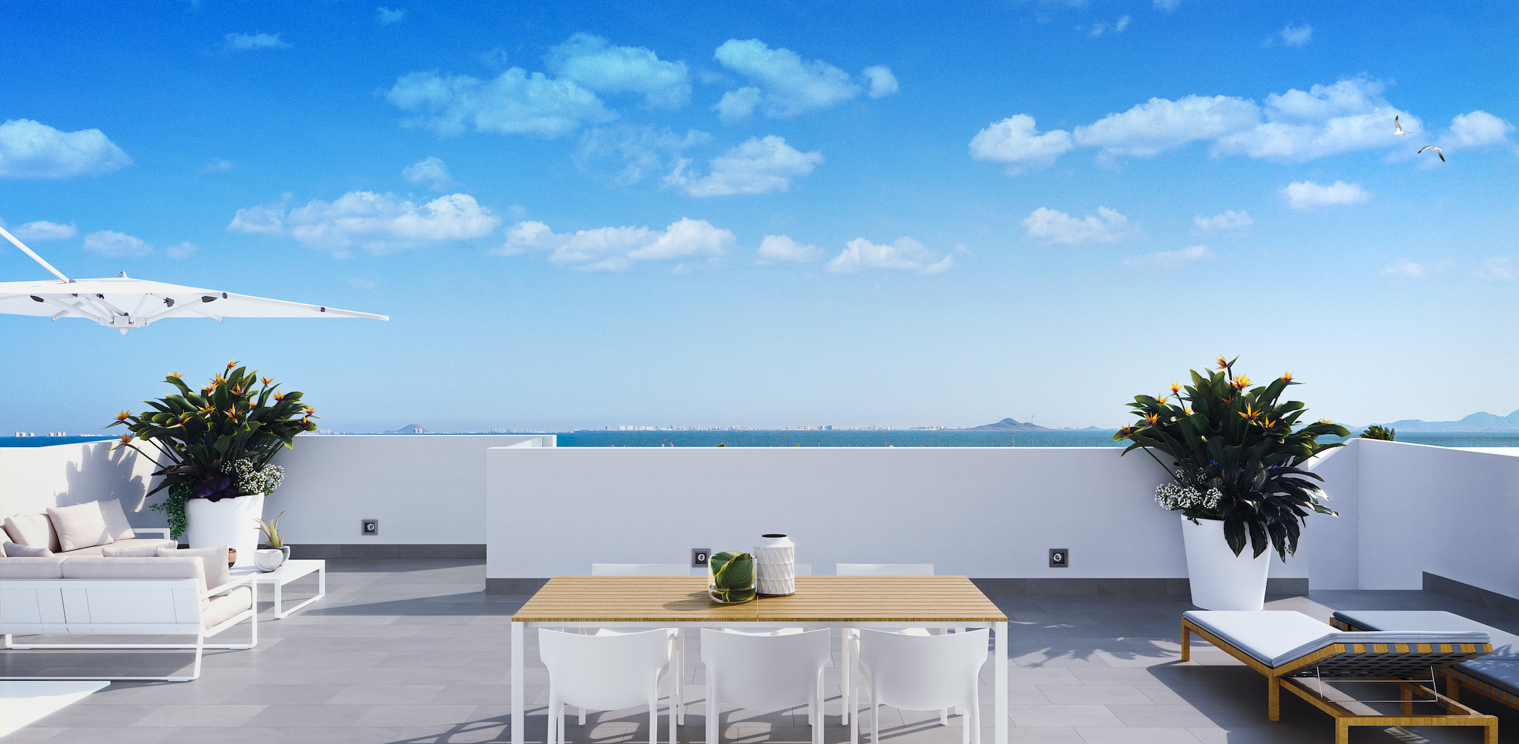 Apartamentos de estilo moderno en Los Alcázares