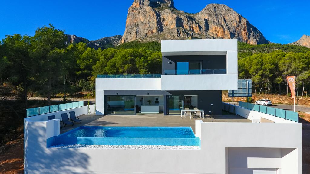 Villas con diseño único en Polop