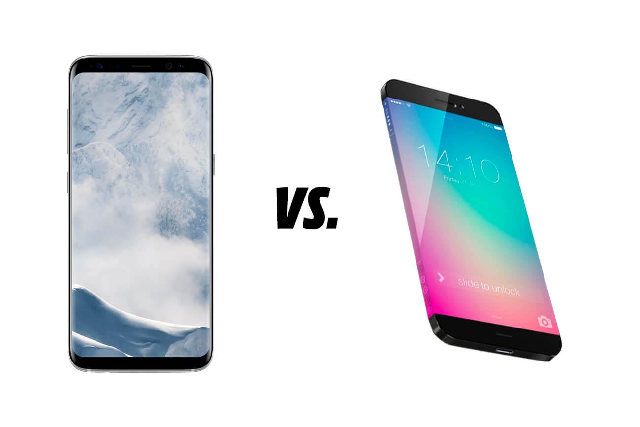 Galaxy S9 vs. iPhone X: ¿Cuáles son las diferencias?