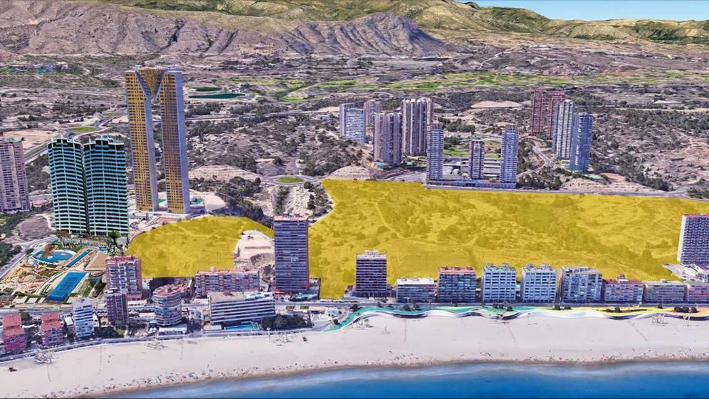 Una promotora de Torrevieja compra suelo para 1.200 pisos en Benidorm (260 millones)